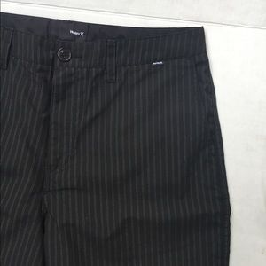 Hurley Shorts - NWOT Hurley > Black Pin Stripe Shorts > 34